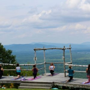 Yoga at West Mountain